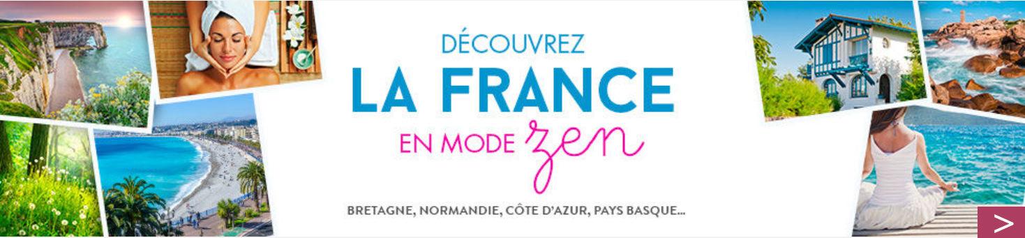 Découvrez la France en mode zen