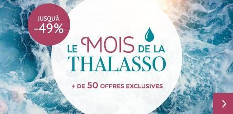 Mois de la thalasso + Cures spécifiques